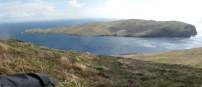 Berneray Barra Head Panorama