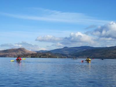 Loch Fyne Sea Kayak Trip 20/2/2010