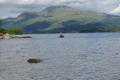 Loch Lomond Canoeing 16.08.15
