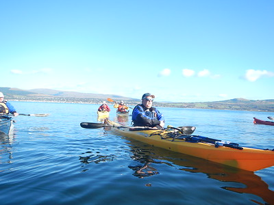 Paddle out from Helensburgh
