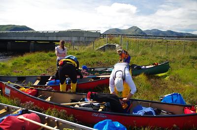 Loch Ba to Perth Canoe Trip Aug 2016