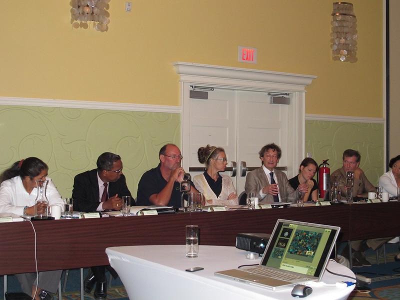 DCNA Board Meeting on Curaçao, October 2012