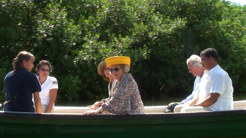 Queen Beatrix' visit (Bonaire, 2012)