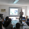 DCBD Presentation at St. Maarten Nature Foundation.  Photo Credit: Nathaniel Miller, Dutch Caribbean Nature Alliance
