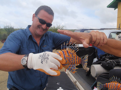 2009 Lionfish Hunting Bonaire