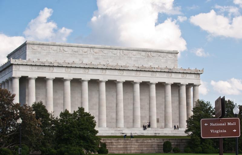 Lincoln Memorial, Washington DC. Photo by Alexis Glenn/Creative Services/George Mason University