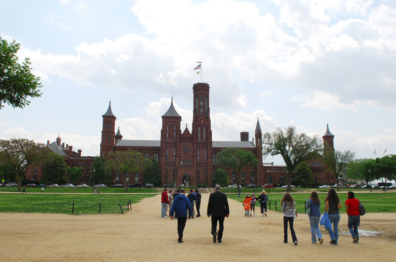 080430020e - Smithsonian Castle on the National Mall, Washington, DC. Photo by Nicolas Tan.