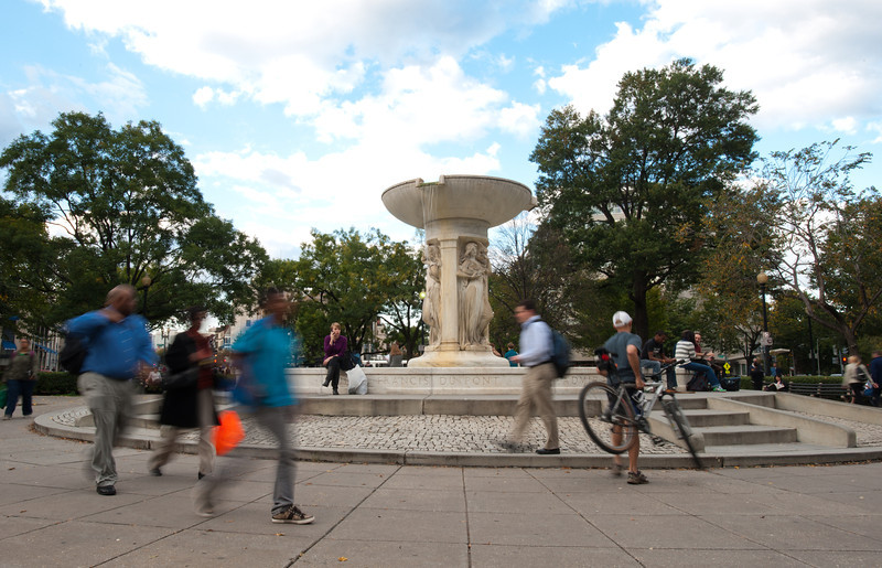Dupont Circle, Washington DC. Photo by Alexis Glenn/Creative Services/George Mason University