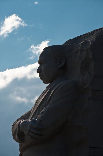 Martin Luther King Jr. Memorial, Washington DC. Photo by Alexis Glenn/Creative Services/George Mason University