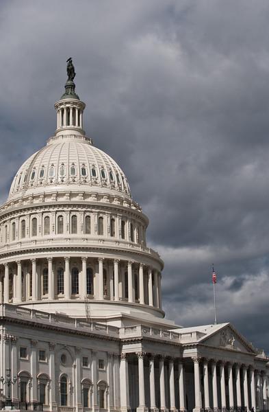 U.S. Capitol building, Capitol Hill. Photo by Alexis Glenn/Creative Services/George Mason University