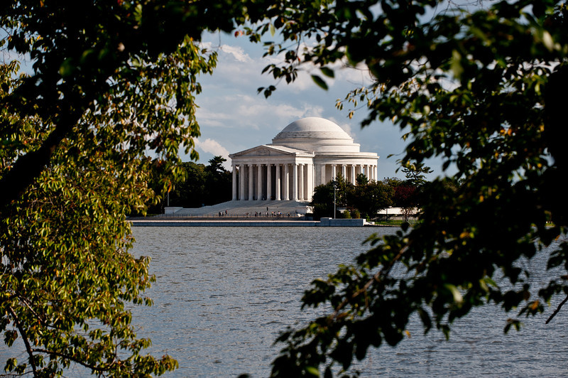 Jefferson Memorial, Tidal Basin, Washington DC. Photo by Alexis Glenn/Creative Services/George Mason University