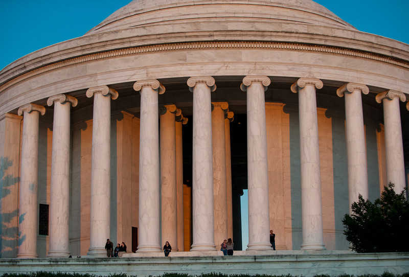 Jefferson Memorial, Washington DC.  Photo by Evan Cantwell/Creative Services/George Mason University