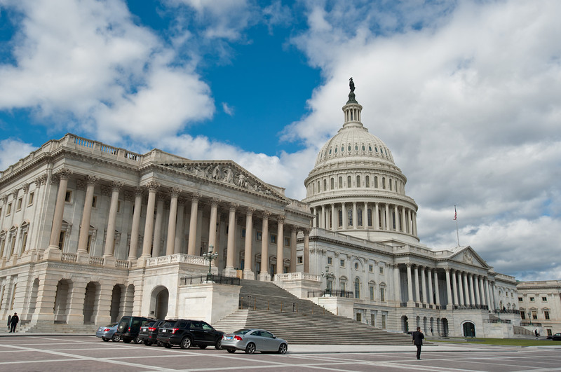 U.S. Capitol building, Capitol Hill. Photo by Alexis Glenn/Creative Services/George Mason University