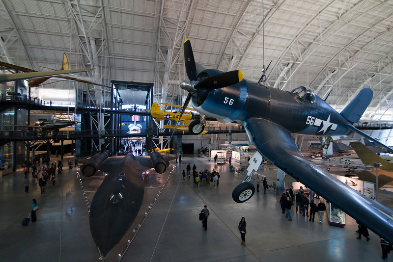 OIPS Field trip to National Air and Space Museum, Steven F. Udvar-Hazy Center