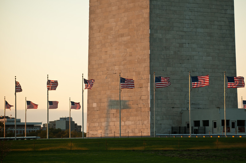Washington Monument, Washington DC.  Photo by Evan Cantwell/Creative Services/George Mason University