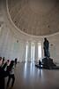 Tourists photograph the Jefferson Memorial in Washington DC. Photo by Alexis Glenn/Creative Services/George Mason University