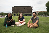 George Mason Students enjoying the sights of Washington DC.  Photo by:  Ron Aira/Creative Services/George Mason University