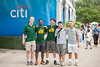 George Mason Students enjoying a day at Washington DC's Citi Open Tennis Tournament.  Photo by:  Ron Aira/Creative Services/George Mason University