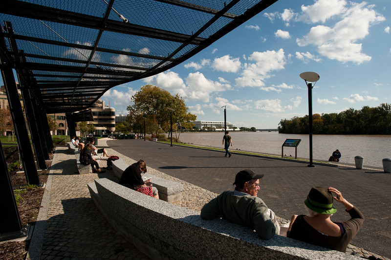 Georgetown Waterfront, Kennedy Center, Washington DC. Photo by Alexis Glenn/Creative Services/George Mason University