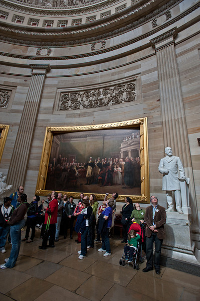 U.S. Capitol building, Capitol Hill, interior rotunda. Photo by Alexis Glenn/Creative Services/George Mason University