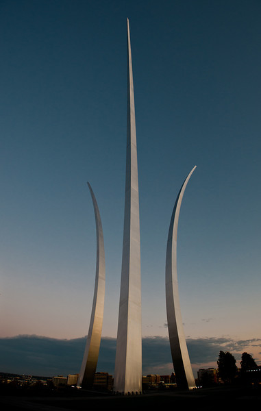 Air Force Memorial, Arlington, Virginia. Photo by Alexis Glenn/Creative Services/George Mason University