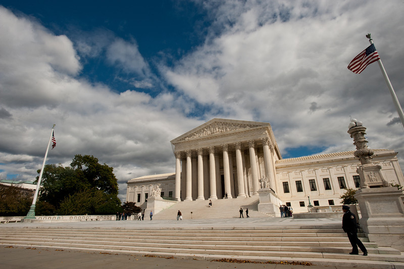U.S. Supreme Court building, Capitol Hill. Photo by Alexis Glenn/Creative Services/George Mason University