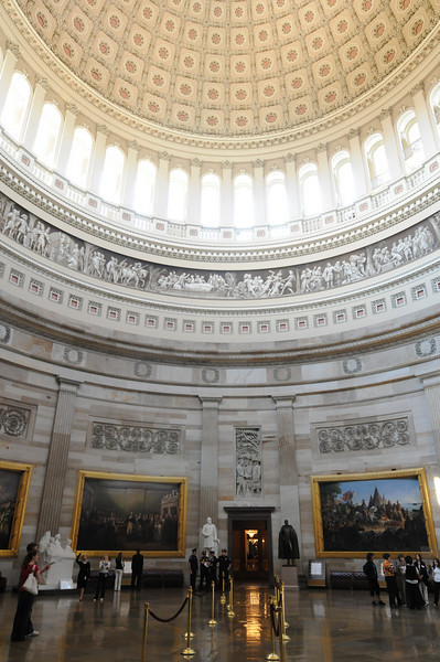 080527053 - Rotunda inside the U.S. Capitol Building, Washington, DC. Photo by Evan Cantwell.