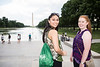 Students at Washington Monument.  Photo by:  Ron Aira/Creative Services/George Mason University