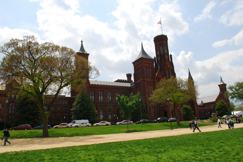 080430019 - Smithsonian Castle on the National Mall, Washington, DC. Photo by Nicolas Tan.