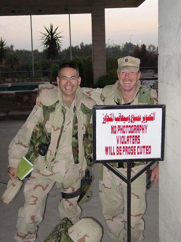 Mosul trip  Iraq City 09-13 Oct 03 468352