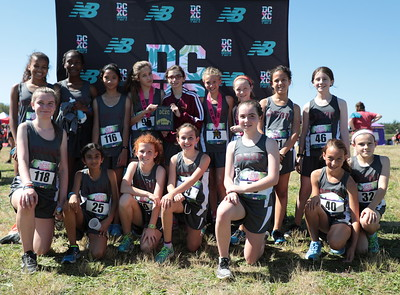 DCXC Invite - Middle School Girls 2nd Place, Alice Deal