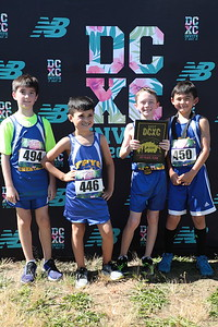 DCXC Invite - Elementary Boys 1st Place, FPYC