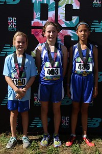 DCXC Invite - Elementary Girls Top 3
