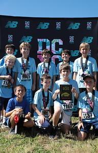 DCXC Invite - Elementary Boys 2nd Place, Janney Elementary