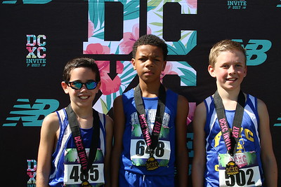 DCXC Invite - Elementary Boys Top 3