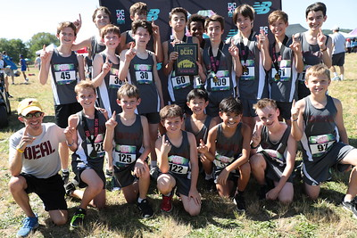 DCXC Invite - Middle School Boys 1st Place, Alice Deal