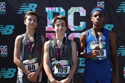 DCXC Invite - Middle School Boys Top 3