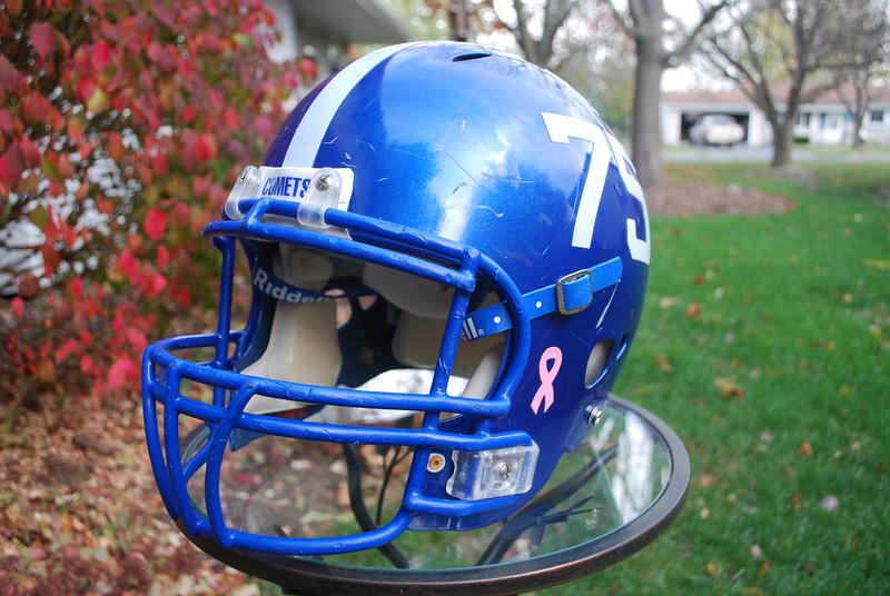 1 November 2011 Joey Footbll Helmet 001
