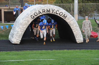 14 SEPTEMBER 2012 DDHS Football Badger