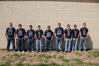 17 August 2014 DDHS Senior Football Players
