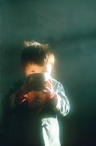 Boy with Salt Milk Tea