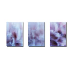 Pflanzen abstrakt | Triptychon Kalypso