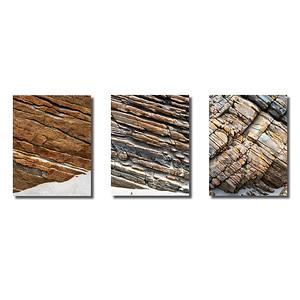Steinstrukturen  |  Triptychon Maghera I