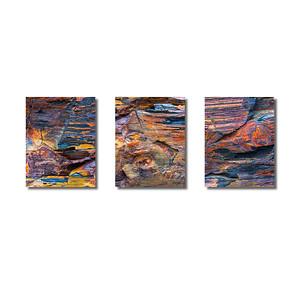 Steinstrukturen | Triptychon Kilkee I
