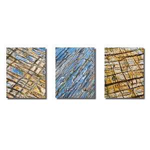 Steinstrukturen  | Triptychon Kinsale I
