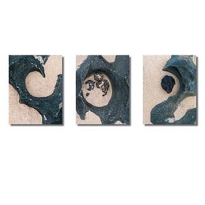 Steinstrukturen  | Triptychon Corralejo I
