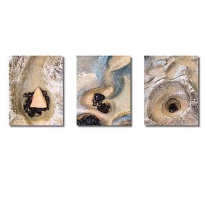 Steinstrukturen  | Triptychon Corralejo II