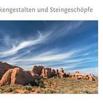 """Foto-Lyrik-Kalender 2019 """"Wolkengestalten und Steingeschöpfe"""" Titel"""""""