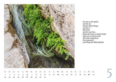 Foto-Lyrik Kalender 2018 Mai
