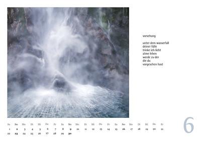 """Foto-Lyrik-Kalender 2019 """"Schöpfungsgeschichten"""" Juni"""